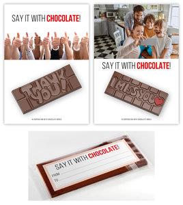 chocolade reep I Miss you